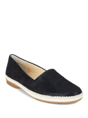 Wisdom Leather Espadrilles Flats by Paul Green
