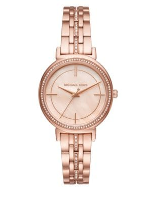 Image of Cinthia Mother-Of-Pearl Bracelet Watch