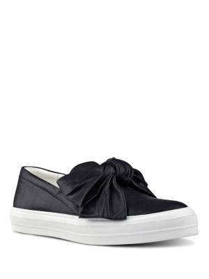 Onosha Leather Slip-On Shoes by Nine West