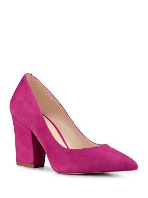 Sheila Suede Pumps by Nine West