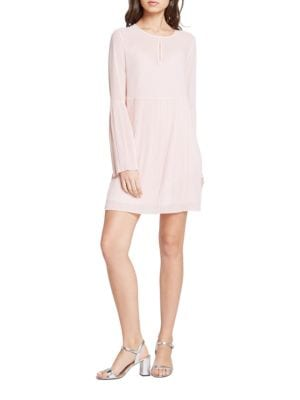Pleated Bell Sleeve Dress by BCBGeneration
