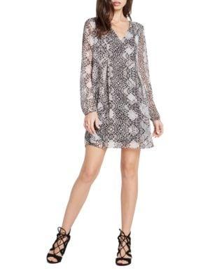 Printed Shift Dress by Eliza J