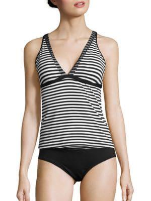 Striped Tankini Top by Nike