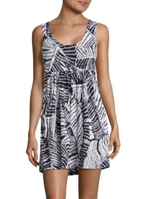 Printed Sleeveless Coverup by Blush By Gottex