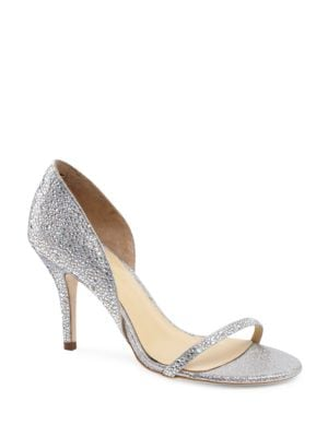 Michela Embellished Leather Pumps by Jl By Judith Leiber