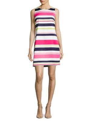 Sleeveless Striped Dress by Eliza J