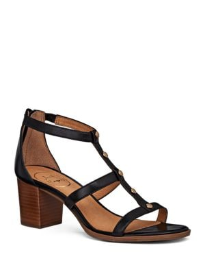 Julia Leather Caged Sandals by Jack Rogers