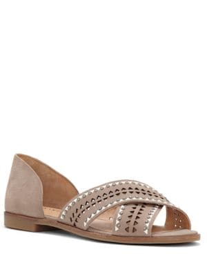 Gallah Leather Slide Sandals by Lucky Brand