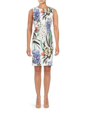 Floral Printed Sleeveless Dress by Tommy Hilfiger