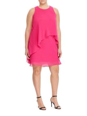 Roundneck Sleeveless Dress by Lauren Ralph Lauren
