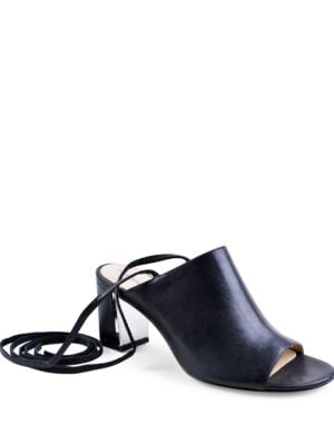 Panak Lace-Up Sandals by Adrienne Vittadini