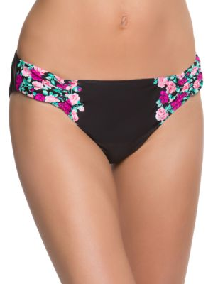 Shirred Hipster Bottom by Betsey Johnson