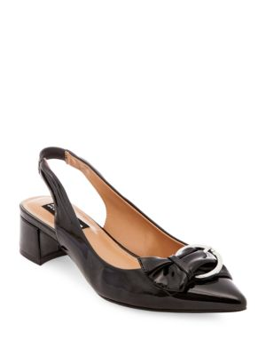 Canne Point-Toe Slingback Pumps by Design Lab Lord & Taylor