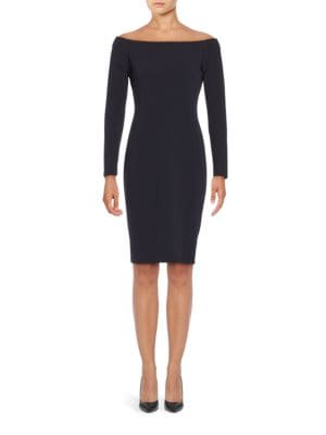 Off-The-Shoulder Sheath Dress by Theia