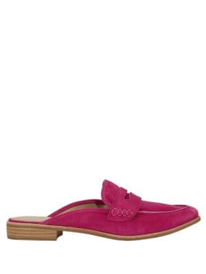 Erin Suede Mules by G.H. Bass