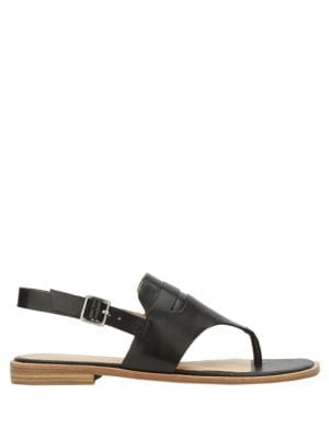 Maddie Leather Slingback Sandals by G.H. Bass