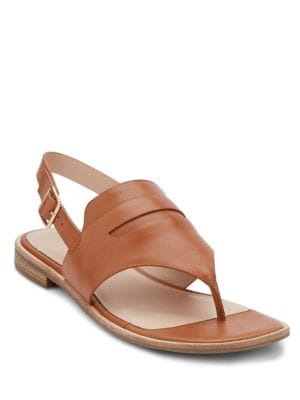 Maddie Leather Thong Sandals by G.H. Bass