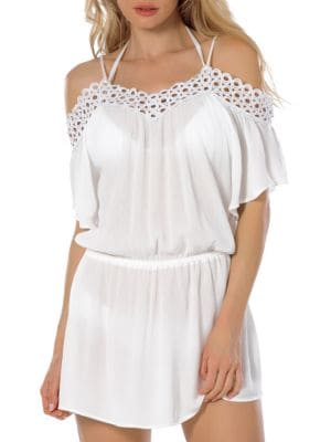 Siren Cold-Shoulder Tunic by Becca Swim
