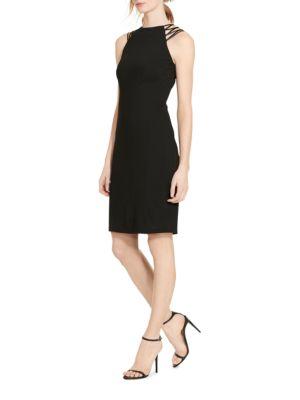 Photo of Lauren Ralph Lauren Crisscross-Strap Jersey Dress