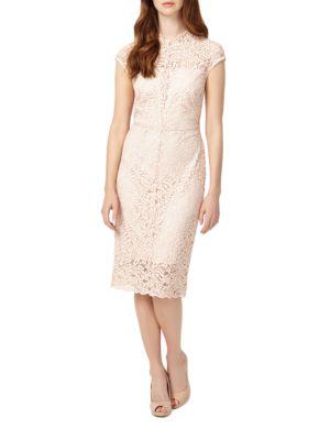 Cap-Sleeve Lace Dress by Gabby Skye