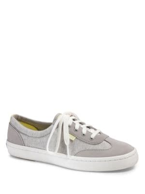 Tournament Canvas and Suede Sneakers by Keds