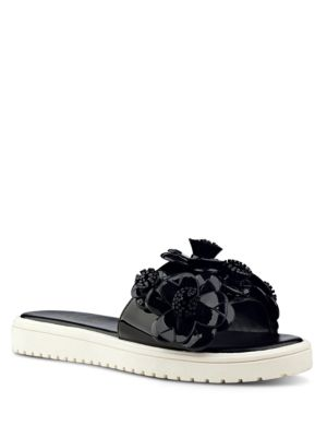 Relly Open-Toe Floral Sandals by Nine West