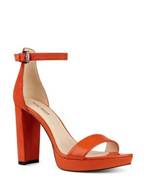 Dempsey Leather Dress Sandals by Nine West