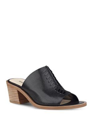 Photo of Rahima Block Heel Mule by Nine West - shop Nine West shoes sales