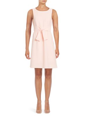 ??leeveless Fit-and-Flare Dress by Adrianna Papell