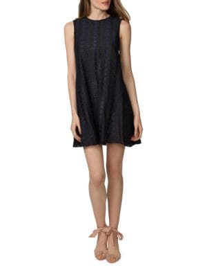 Sleeveless Trapeze Dress by Eliza J