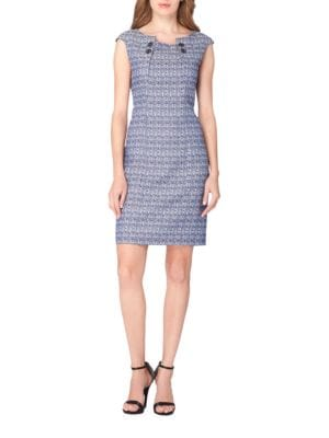 Tweed Sheath Dress by Karl Lagerfeld Paris