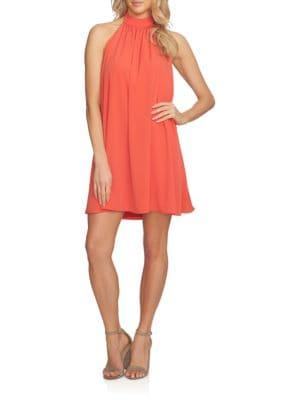 Solid Halter Dress by Calvin Klein