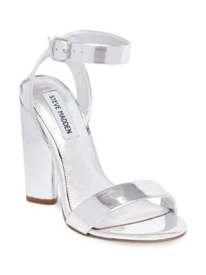 Treasure Leather Dress Sandals by Steve Madden