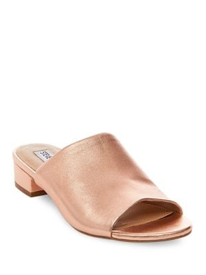Briele Leather Mules by Steve Madden