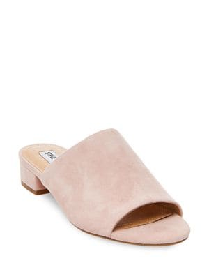 Briele Suede Mules by Steve Madden