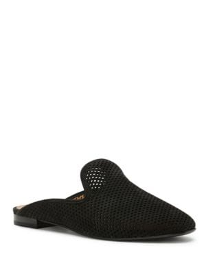 Photo of Gwen Perforated Leather Mules by Frye - shop Frye shoes sales