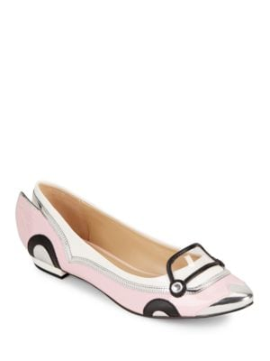 Shannon Patent Leather Flats by Katy Perry