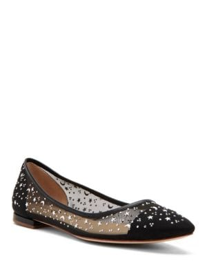 Selena Embellished Ballet Flats by Katy Perry