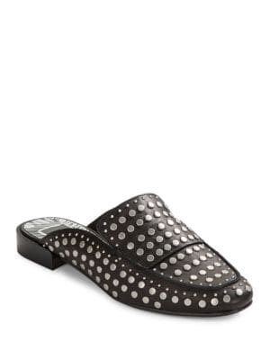 Maura Leather Studded Mules by Dolce Vita