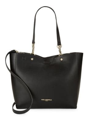 Reversible Faux Leather Tote 500034654673