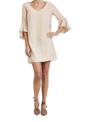 Easton Solid Shift Dress by Paper Crown