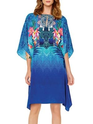 Oahu Floral-Print Dress by Gottex