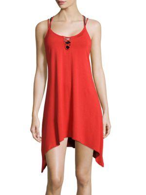 Swing Crisscross-Back Dress by Lucky Brand