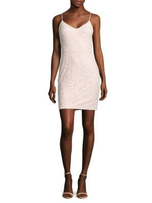 Floral Lace Sheath Dress by Guess