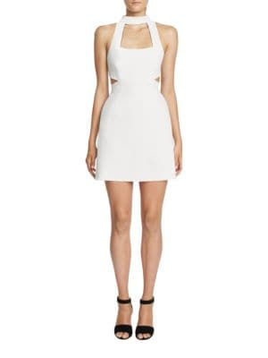 Solid Tailored-Fit Cutout Dress by Jill Jill Stuart