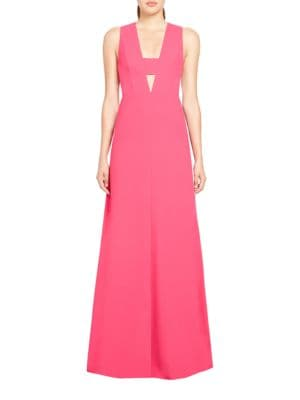 Solid A-Line Gown by Jill Jill Stuart