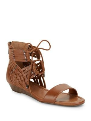 Lourra Woven Wedge Sandals by Jessica Simpson