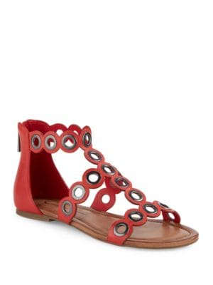 Korva Leather Sandals by Jessica Simpson