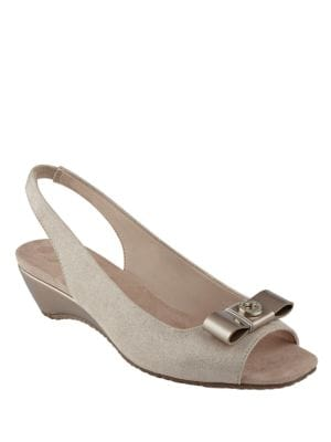 Honora Open Toe Slingback Sandals by Anne Klein