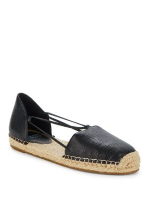 Lee Leather Espadrilles by Eileen Fisher
